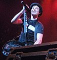 David Desrosiers of Simple Plan (Moscow, 18 08 2009).jpg