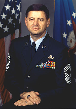 David J. Campanale - 11th Chief Master Sergeant of the Air Force (1994-1996)
