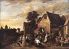 David Teniers (II) - Flemish Kermess - WGA22088