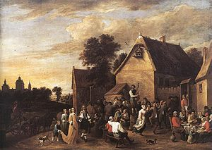 1652 in art - Image: David Teniers (II) Flemish Kermess WGA22088