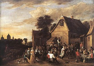 1652 in art - Image: David Teniers (II) Flemish Kermess WGA22088