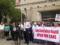 De Blasio Updates NY'ers on Lawsuit to Keep L.I.C.H. Open (9474820174).jpg