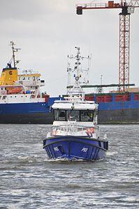 De P93 in haven van Hardinxveld (02).JPG