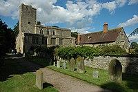 Deerhurst Church and Priory Farm - geograph.org.uk - 1397043.jpg