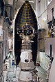 Delta II 7925-10C fairing ready for installation around THEMIS.jpg