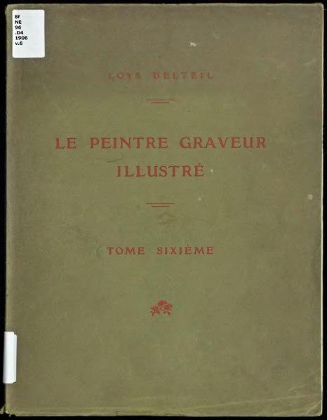 File:Delteil - Le Peintre-Graveur illustré, t. 6, Rude. Barye. Carpeaux. Rodin.djvu