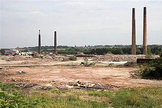 Proact Stadium - Dema Glassworks, before the construction of the stadium