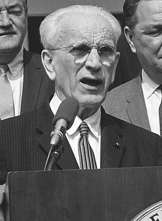 John W. McCormack - Image: Democratic Leaders White House 1965(cropped)