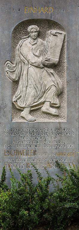 File:Denkmal Einhard Eschweiler.jpg - Wikimedia Commons  File:Denkmal Ei...