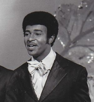 Dennis Edwards - Edwards performing with The Temptations on The Ed Sullivan Show in September 1969.
