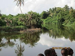 Densu River - Image: Densu meander