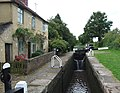 Deptmore Lock and Cottage, Staffordshire and Worcestershire Canal near Wildwood - geograph.org.uk - 970108.jpg