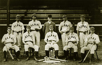 Baseball in the United Kingdom - Derby County were one of Britain's leading baseball teams in the 1890s