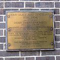 Derby Silk Mill - Commemorate Derby Silk Strike 100 years later (1934).jpg