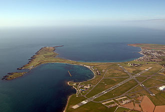 Rǫgnvaldr Guðrøðarson - The Isle of Man Airport encompasses a site once called Ronaldsway. Rǫgnvaldr may well be the eponym of this place name.