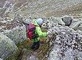 Descending from the summit of Lochnagar - geograph.org.uk - 556321.jpg