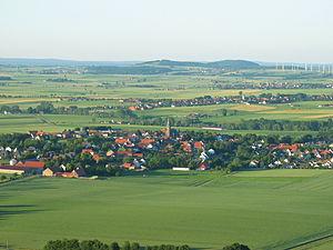 Börde - View over the Warburg Börde