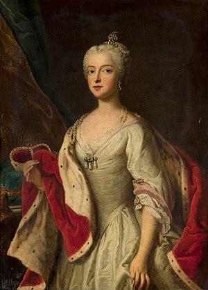 Maria Amalia of Austria - Image: Desmarées, studio of Theresa Benedicta of Bavaria