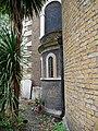 Detail on the East Side of Saint George's Church, Gravesend.jpg