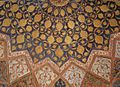 Detailed work on the ceiling of Akbar's tomb.JPG