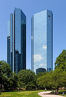 Deutsche Bank German global banking and financial services company