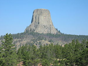 Crook County, Wyoming - Devils Tower