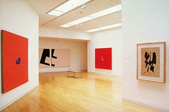 Kettle's Yard - An exhibition of Diet Sayler in the gallery in 2000