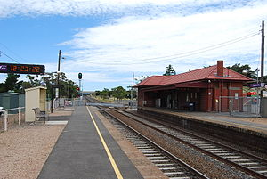Diggers Rest railway station - Image: Diggers Rest railway station