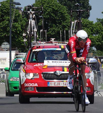 Diksmuide - Ronde van België, etappe 3, individuele tijdrit, 30 mei 2014 (B070).JPG