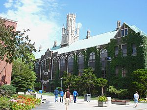University of Windsor - Dillon Hall, University of Windsor; architect Albert Lothian