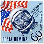 Dimitrie Stiubei - Cosmonauti - W. Schirra.jpg