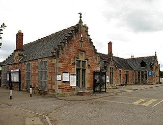 Dingwall railway station Railway station in Highland, Scotland