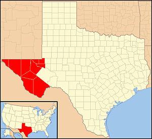 Roman Catholic Diocese of El Paso - Image: Diocese of El Paso in Texas