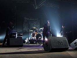 Discharge, live in Rome, 2006