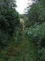 Disused railway line at Llan Ffestiniog - 2 - geograph.org.uk - 1478404.jpg