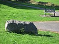 Dolerite erratic Newton Aycliffe - geograph.org.uk - 1499696.jpg
