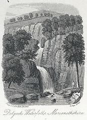 Dolgoch Waterfalls, Merionethshire