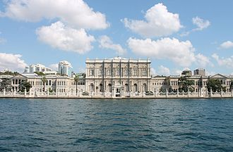 Dolmabahçe Palace - Dolmabahçe Palace as seen from the Bosphorus