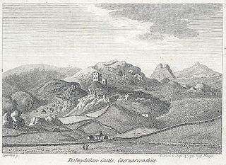 Dolwyddellan Castle, Caernarvonshire