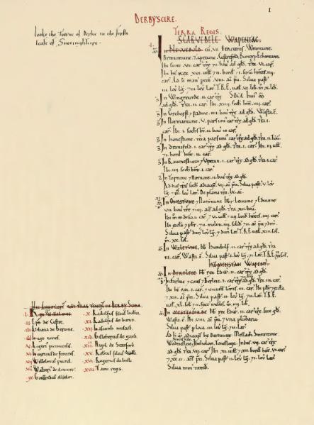 File:Domesday Book Derbyshire.djvu