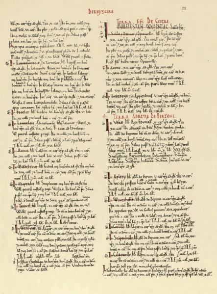 File:Domesday Book Derbyshire.djvu