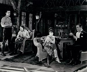 Don't Tell Everything - From left to right: Wallace Reid, Dorothy Cumming, Gloria Swanson, and Elliott Dexter