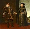 Don Juan de Austria y su hermano fray Alonso de Santo Tomás. 1636.jpg