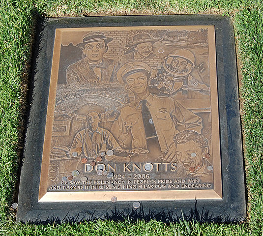 Don Knotts grave at Westwood Village Memorial Park Cemetery in Brentwood, California,cropped-rotated-perspective.jpg