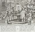 Dona Lambra Orders a Villager to Strike Gonzalo Gomez with a Cucumber Drenched in Blood LACMA 65.37.243.jpg