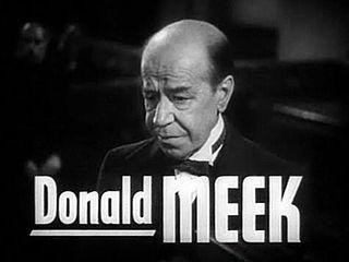 affiche Donald Meek