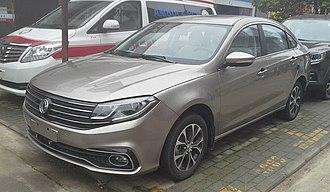 Dongfeng Fengxing Jingyi S50 - Image: Dongfeng Fengxing Jingyi S50 facelift 01 China 2017 04 05