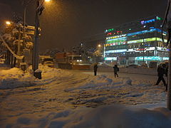 Donghae city with snow (11).JPG