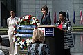 Donna Edwards, Kristi Noem, and Sheila Jackson Lee present the wreath during the Women in the Military Wreath Laying Ceremony.jpg