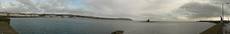 Douglas Bay Isle Of Man Panorama